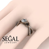 The Rose Power Diamond Ring- Abigail no. 2