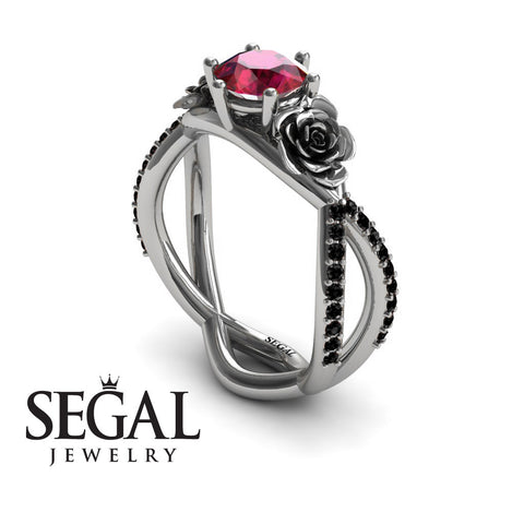 The Rose Power Rubby Ring- Abigail no. 6