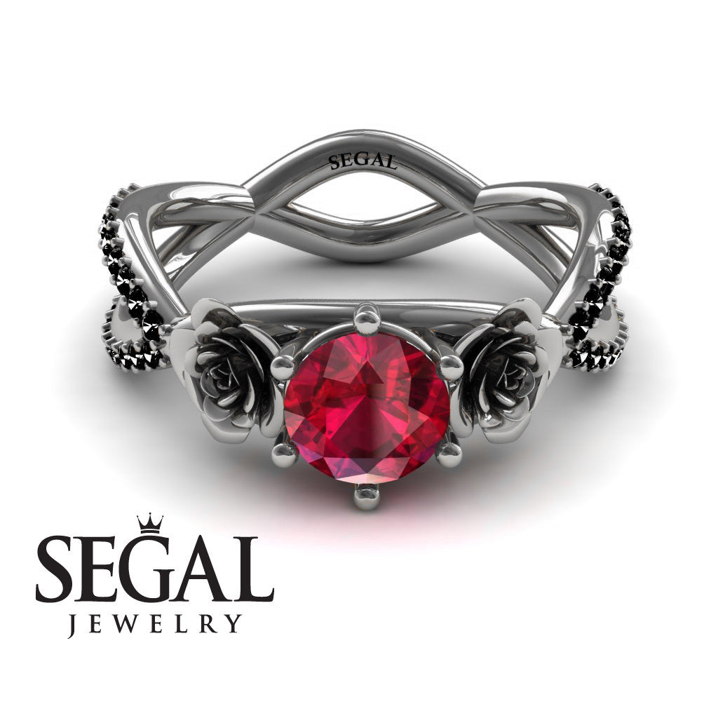 The Rose Power Ruby Ring- Abigail no. 6