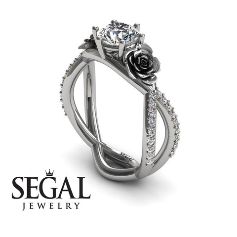 The Rose Power Diamond Ring- Abigail no. 3