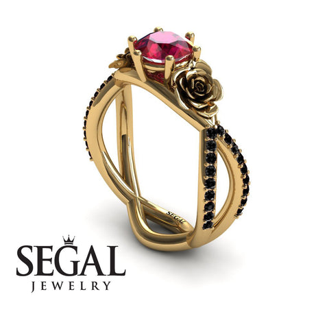 The Rose Power Rubby Ring- Abigail no. 4
