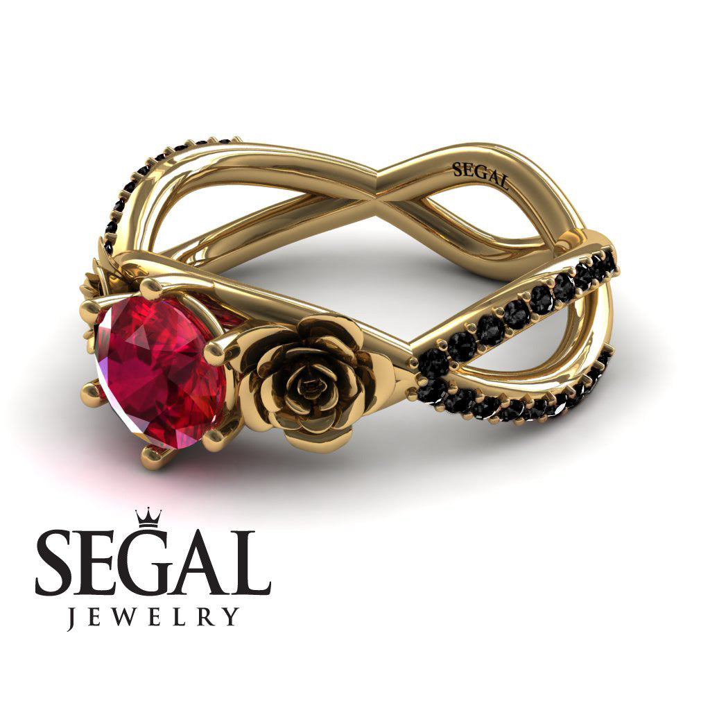 The Rose Power Ruby Ring- Abigail no. 4