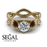 The Rose Power Diamond Ring- Abigail no. 1
