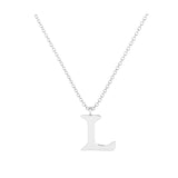 L - Letter Name Necklace Initial Necklace