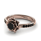 A lady's Rose Diamond Ring - Elena no. 15