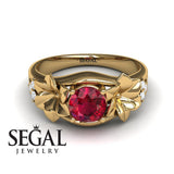 Narcissus Trilogy Ruby Ring- Blossom no. 10