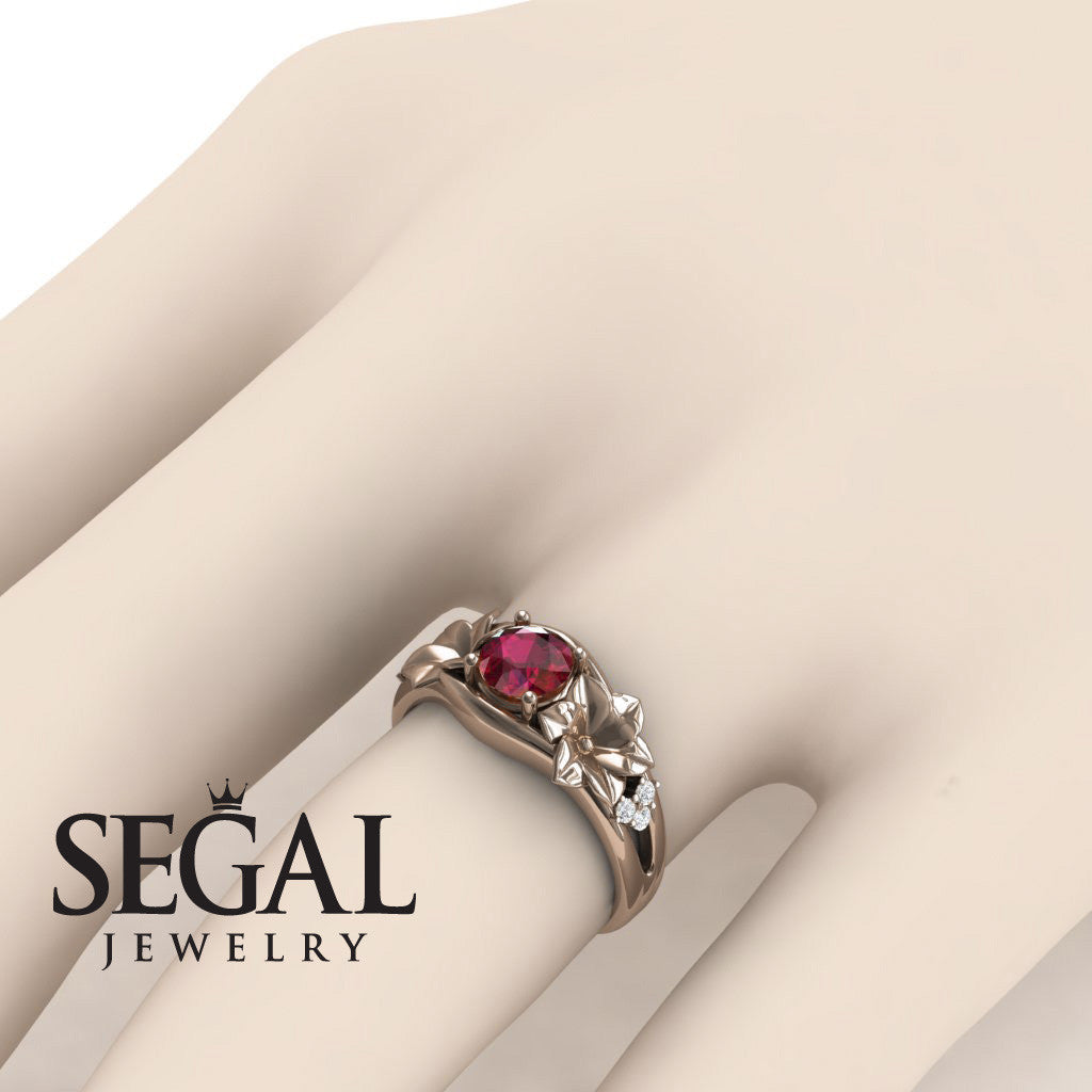 Narcissus Trilogy Ruby Ring- Blossom no. 11