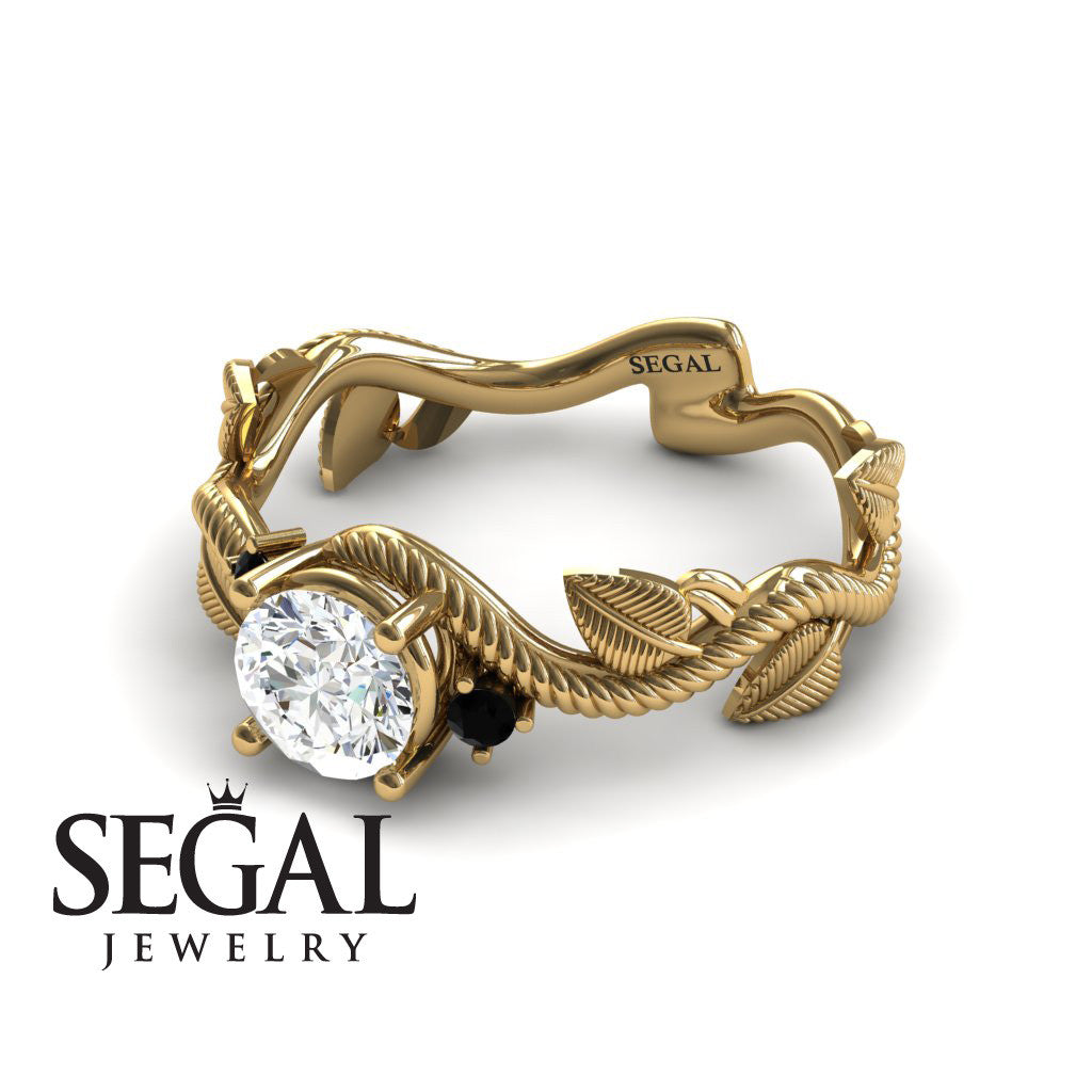Twig Nature Engagement Ring - Allison no. 7