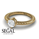 The Slim Edwardian Diamond Ring- Alexandra no. 1