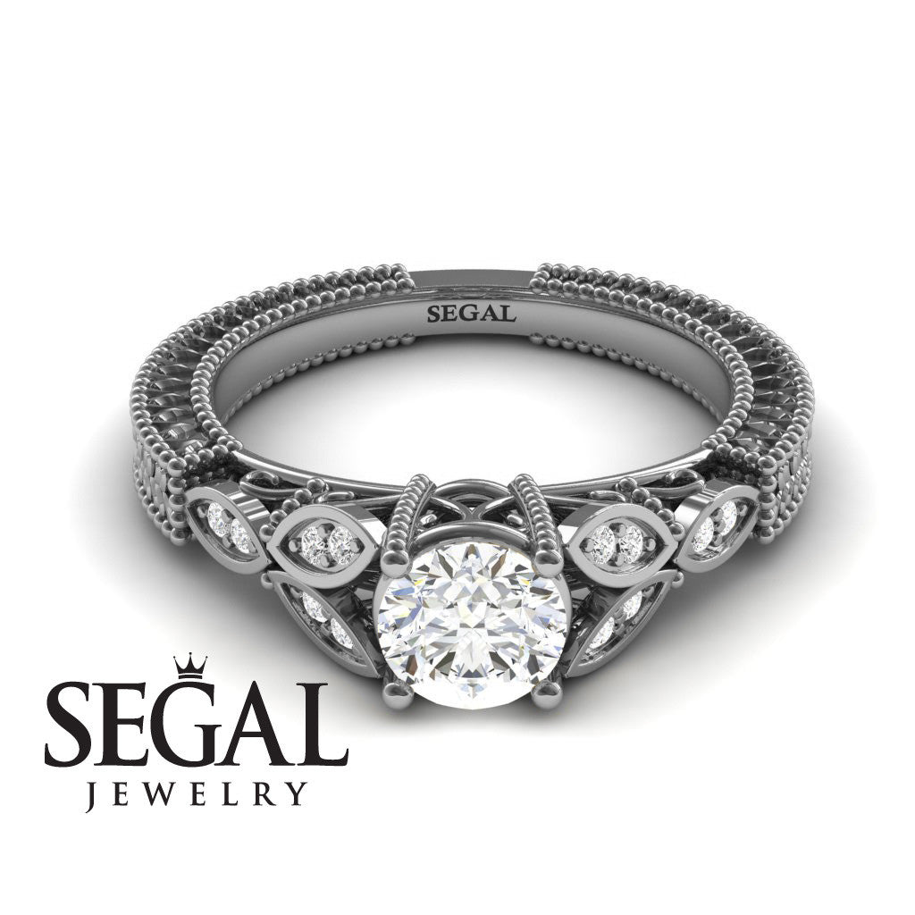 The Leaf Legend Diamond Ring- Adeline no. 3