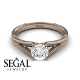 Diamond Solitare Engagement Ring