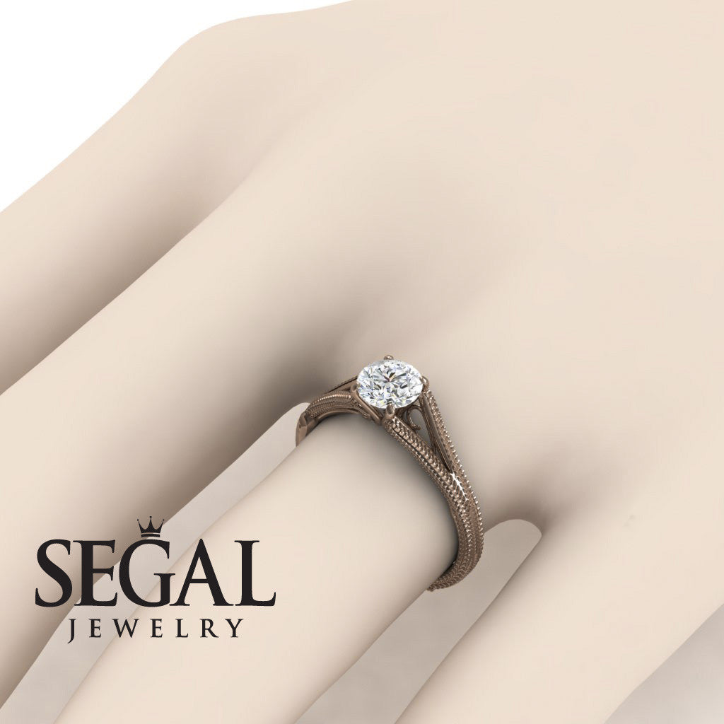 Classic Solitaire Engagement Ring - Eva no. 2