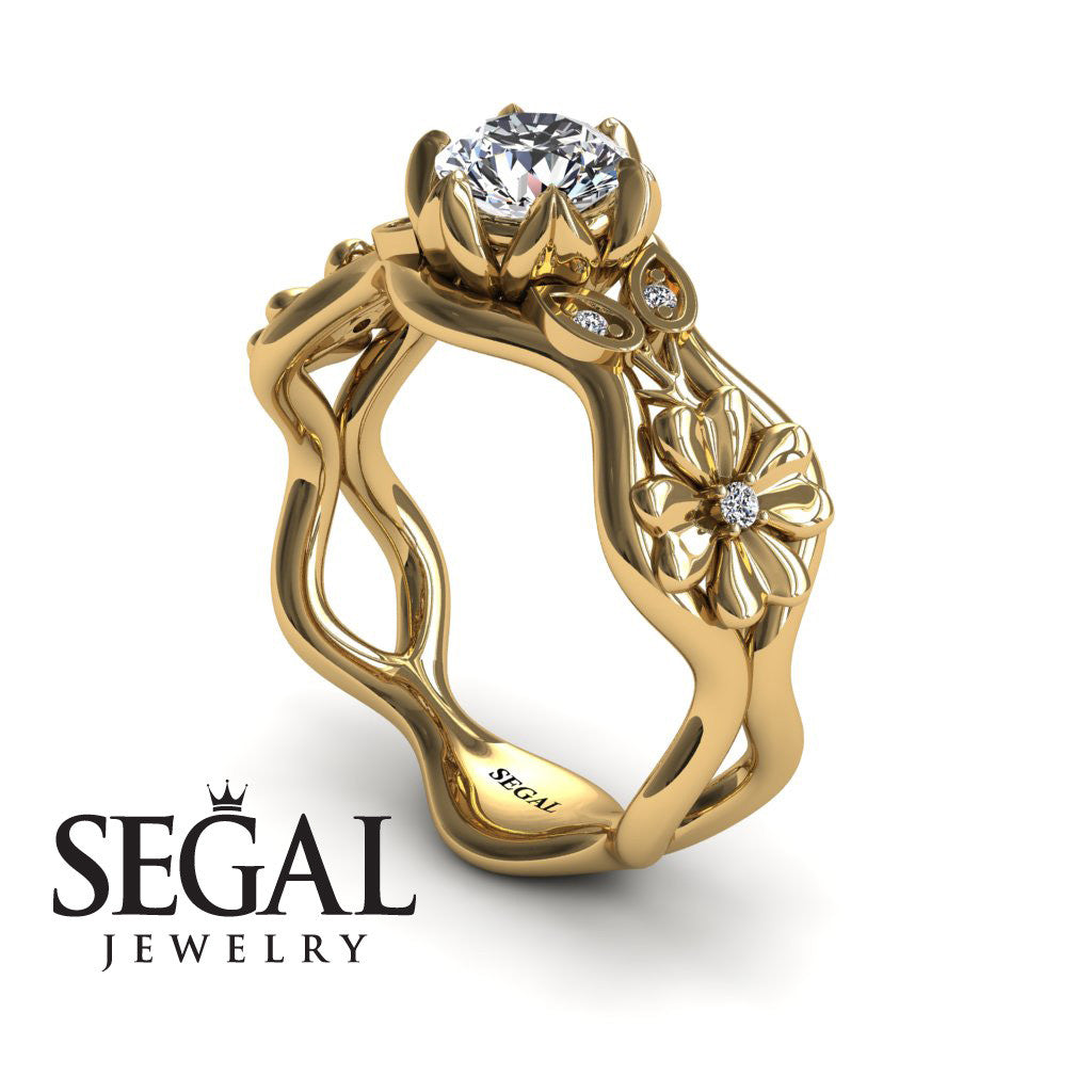 sapphires cocktail ring and stunning white diamond product gold