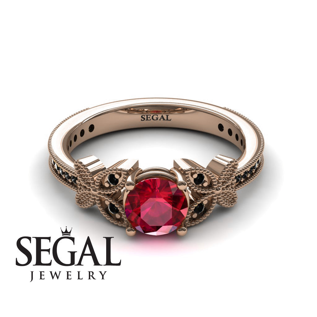 ruby products artemer on thin gold solid ring hand jewellery baby