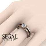 Stairway to Heaven Diamond Ring- Gabriella no. 5