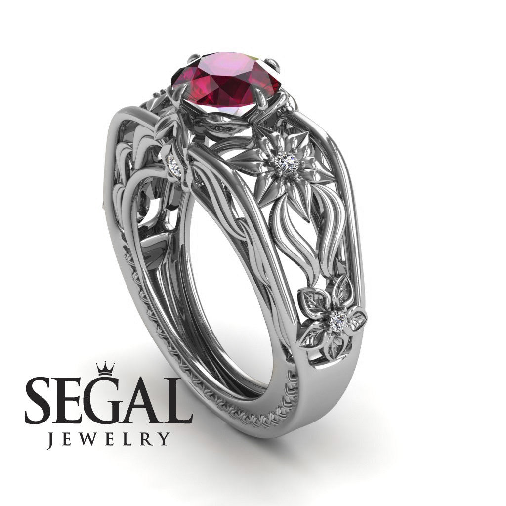 The Structure Of Nature Ruby Ring- Alexis no. 12