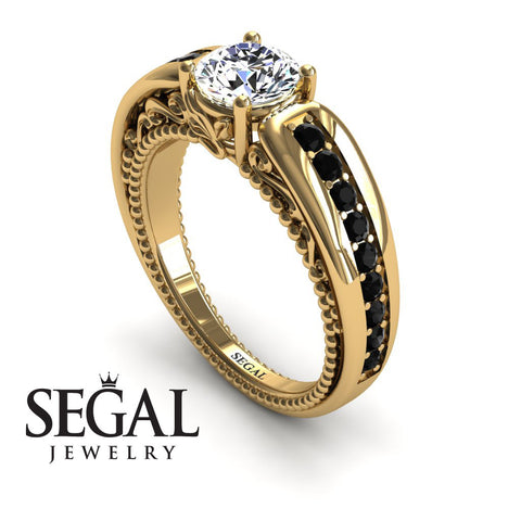 Stairway to Heaven Diamond Ring- Gabriella no. 4