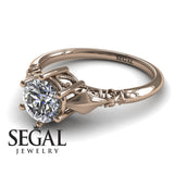 Solitaire Victorian Engagement Ring - Reagan no. 2
