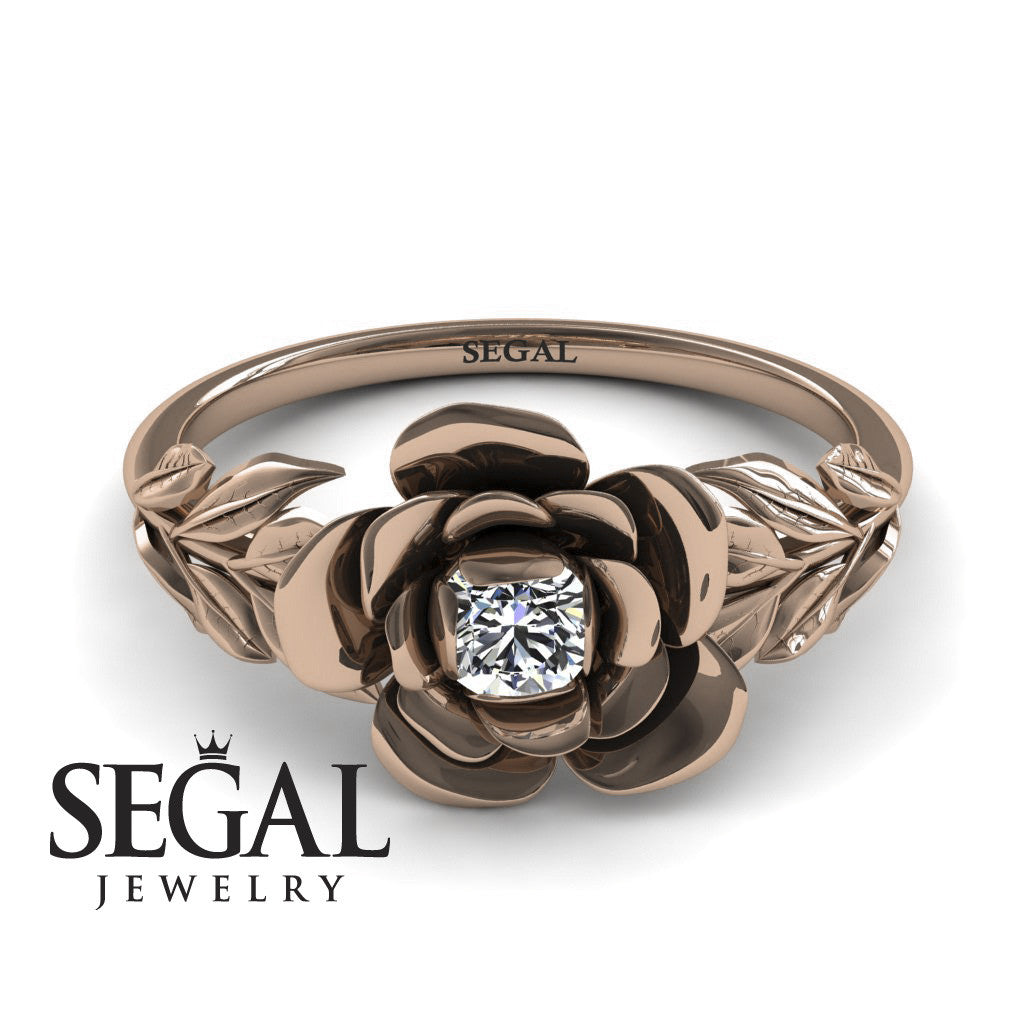 Flower Unique Engagement Ring - Adalyn no. 2