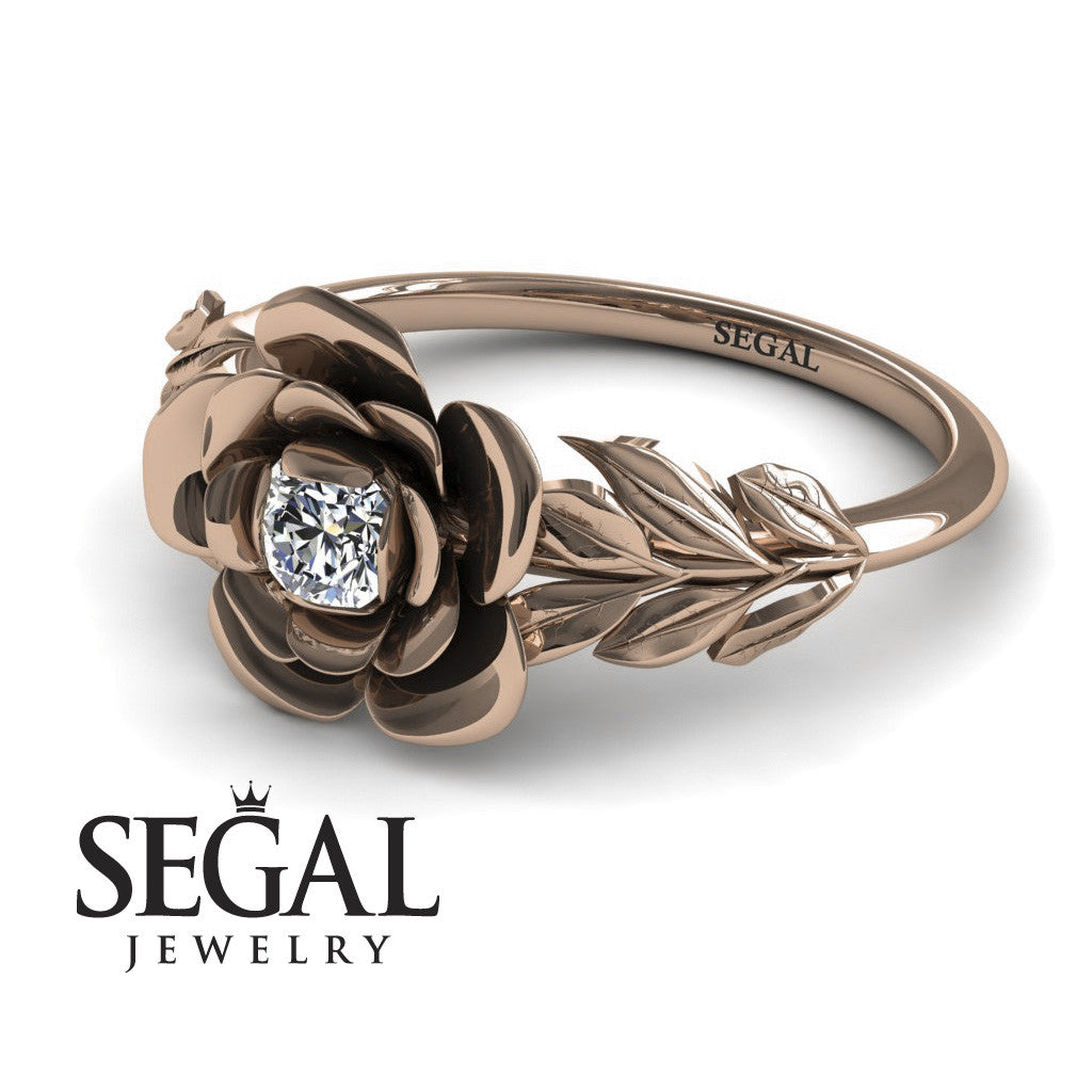 Flower Affordable Engagement Ring - Adalyn no. 2