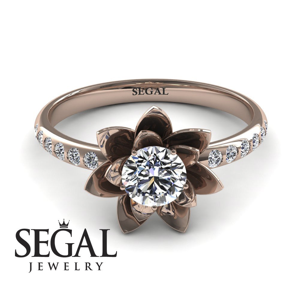 Lotus Flower Diamond ring - Lotus no. 2