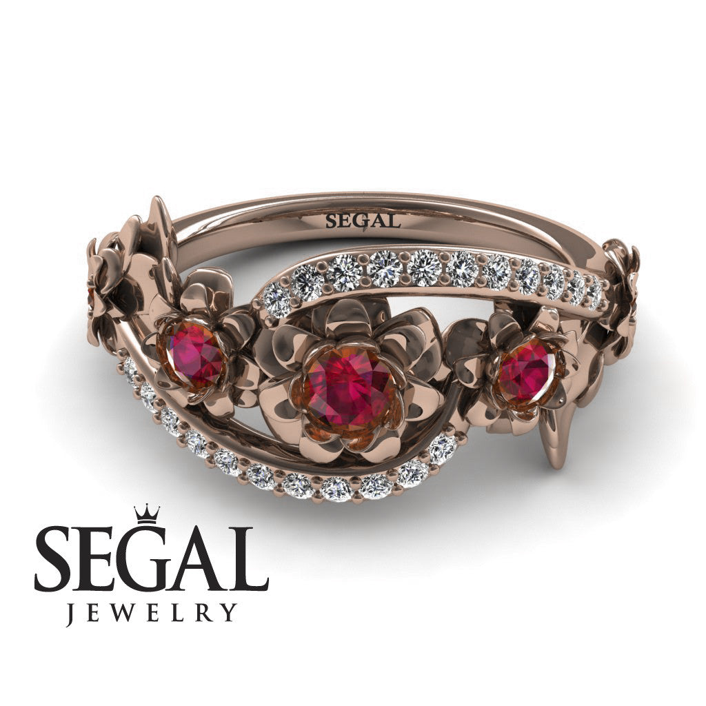 The 5th Season Ruby Ring- Ellie no. 8