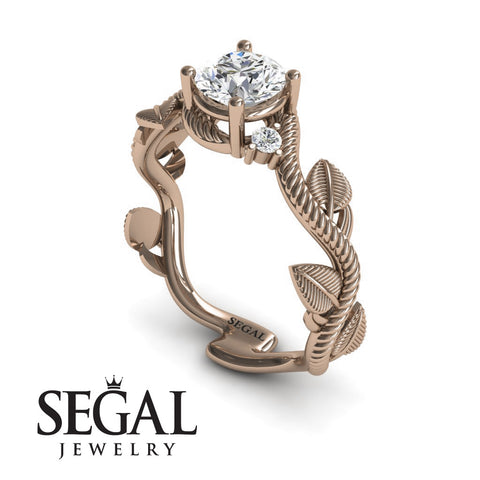 Branch Twig Engagement Ring - Allison no. 2