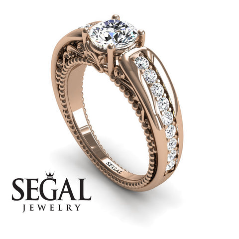 Stairway to Heaven Diamond Ring- Gabriella no. 2