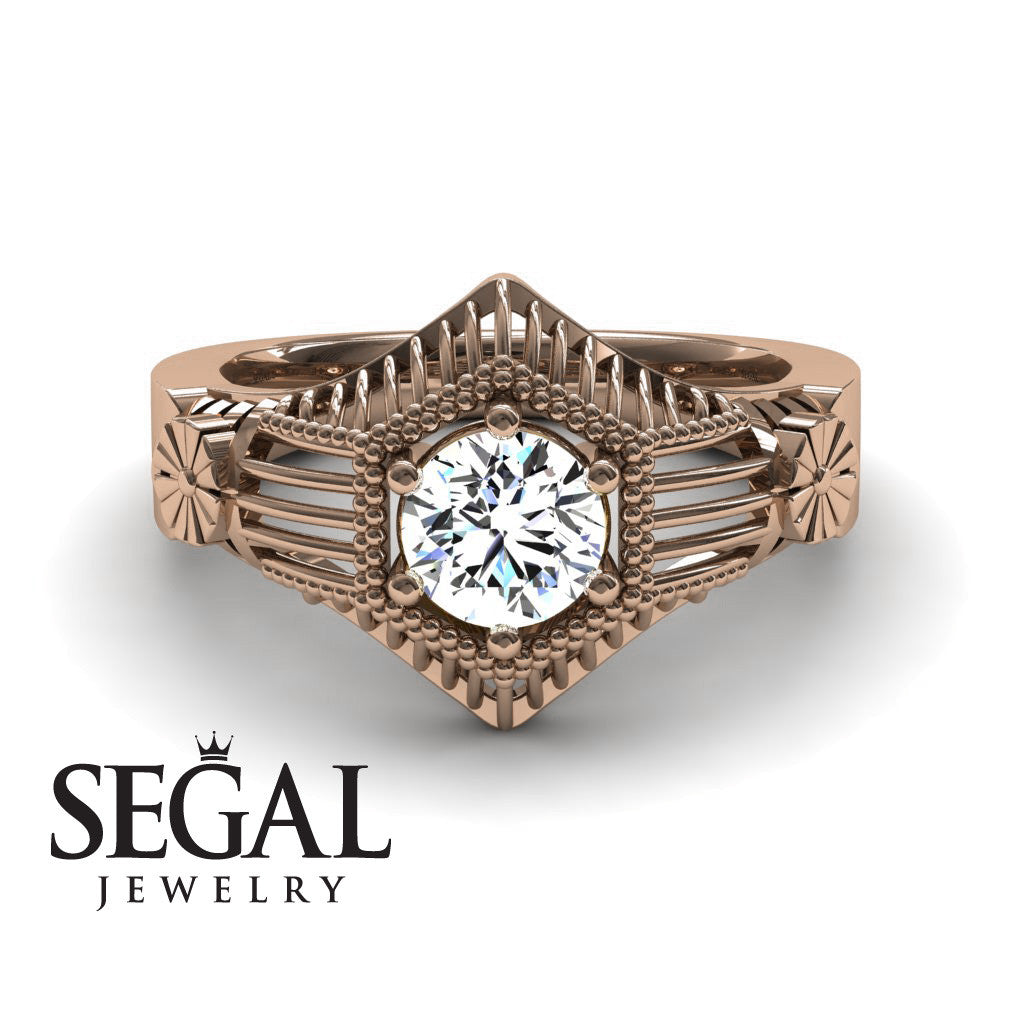 The Flower Cage Diamond Ring- Savannah noº 2