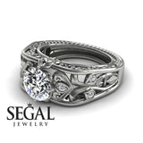 The Art Deco Choir Diamond Ring - Skyler no. 3
