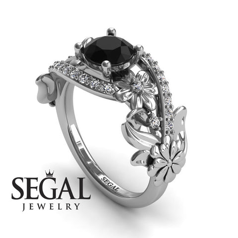 Nature's Self Black Diamond Ring- Sadie no. 6