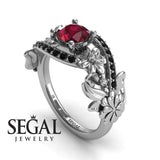 Nature's Self Ruby Ring- Sadie no. 12