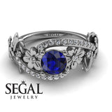 Nature's Self Blue Sapphire Ring- Sadie no. 9