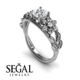 Fresh Flora' Diamond Ring - Ella no. 3