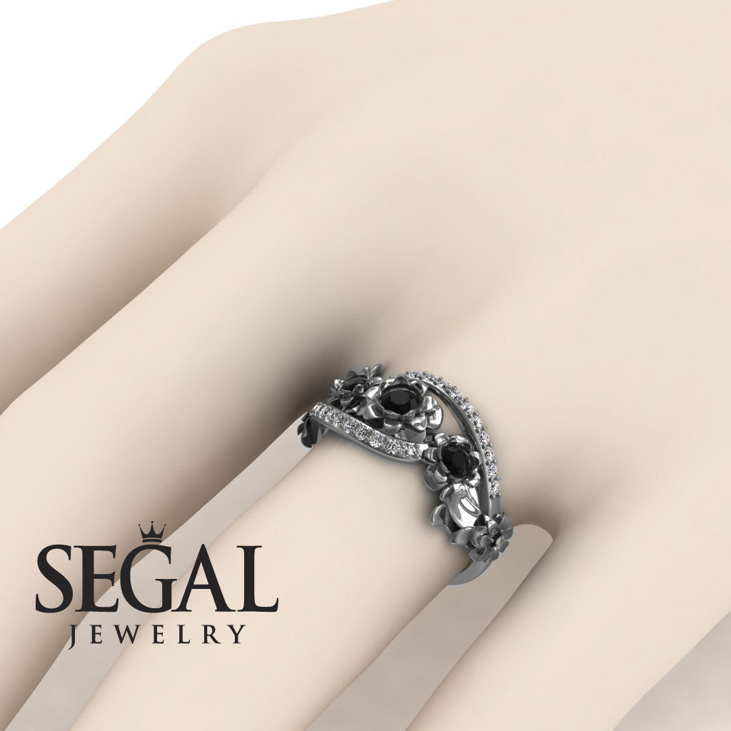 The 5th Season Black Diamond Ring- Ellie no. 6