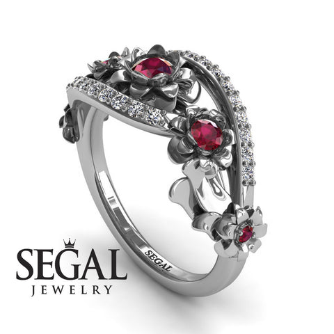 The 5th Season Ruby Ring- Ellie no. 9