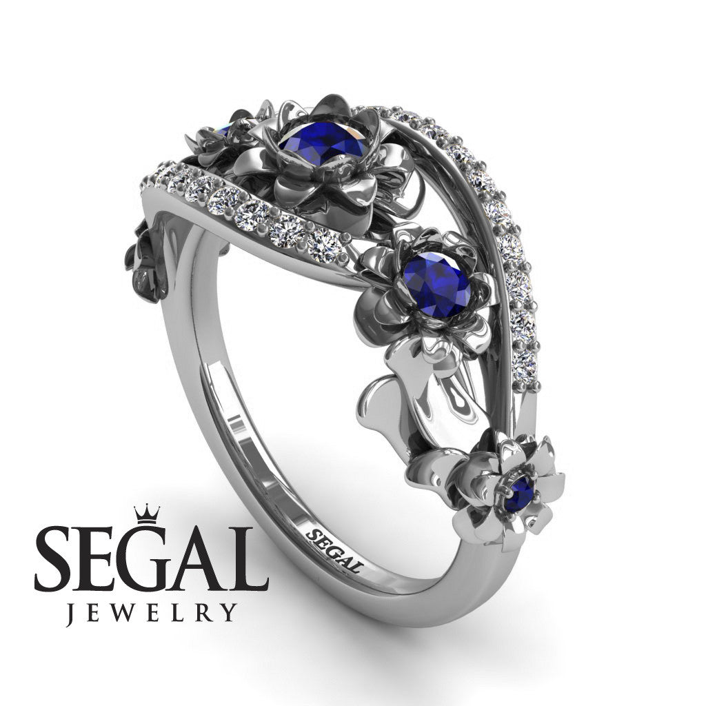 The 5th Season Blue Sapphire Ring- Ellie no. 12