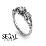 Flower Nature Engagement Ring - Kennedy no. 3