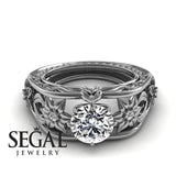Designer Unique Engagement Ring - Alexis no. 3