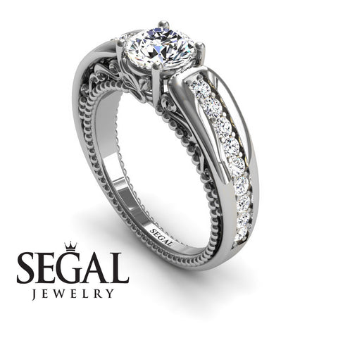 Stairway to Heaven Diamond Ring- Gabriella no. 3