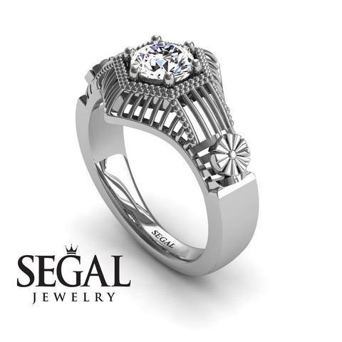 The Flower Cage Diamond Ring- Savannah noº 3