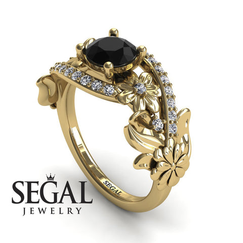 Nature's Self Black Diamond Ring- Sadie no. 4