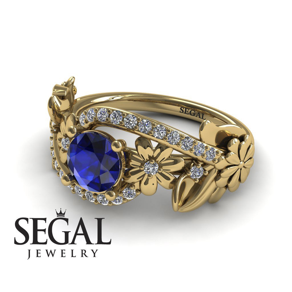 Nature's Self Blue Sapphire Ring- Sadie no. 7