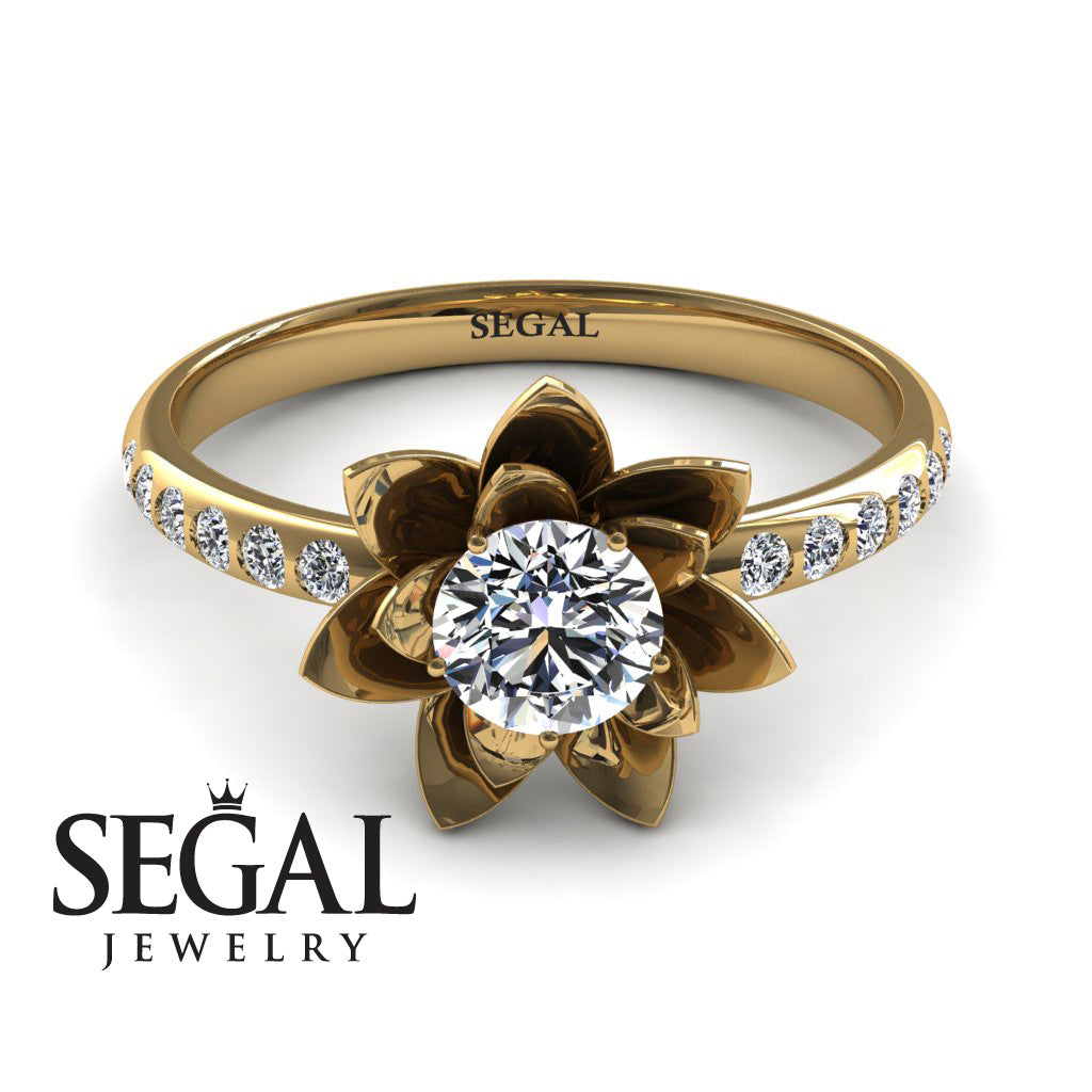 Lotus Flower Diamond ring - Lotus no. 1