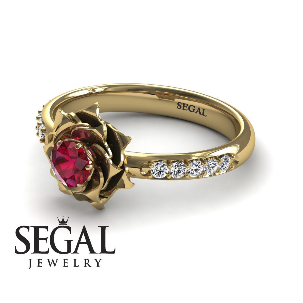 4 · A Lady's Rose Ruby Ring  Elena No