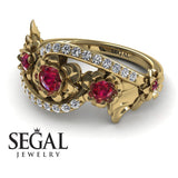 The 5th Season Ruby Ring- Ellie no. 7