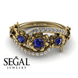 The 5th Season Blue Sapphire Ring- Ellie no. 10