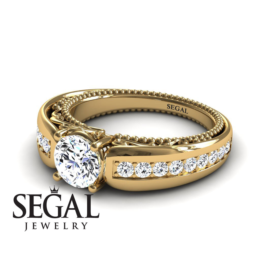 Stairway to Heaven Diamond Ring- Gabriella no. 1