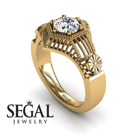 The Flower Cage Diamond Ring- Savannah noº 1