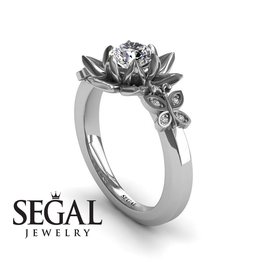 The Lotus Cocktail ring Diamond Ring Kaitlyn no 3 Segal Jewelry